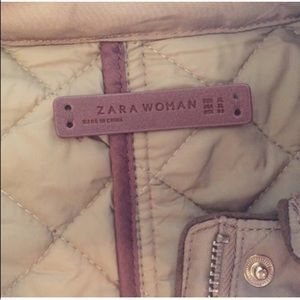 Zara Jackets & Coats - 🔷BOGO🔷 🆕 Zara camel tan quilted coat jacket XL